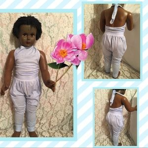 halter top jumpsuit by Y Porque brand from Spain